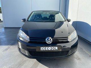 2011 Volkswagen Golf VI MY12 77TSI DSG Black 7 Speed Sports Automatic Dual Clutch Hatchback.