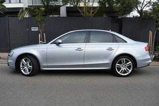 2014 Audi A4 B8 8K MY15 S Line Multitronic Silver 8 Speed Constant Variable Sedan.