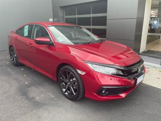 2020 Honda Civic 10th Gen MY20 RS Red 1 Speed Constant Variable Sedan.