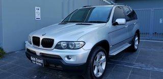 2006 BMW X5 E53 3.0D Silver 6 Speed Automatic Wagon.