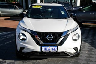 2020 Nissan Juke F16 ST+ DCT 2WD Ivory Pearl 7 Speed Sports Automatic Dual Clutch Hatchback.