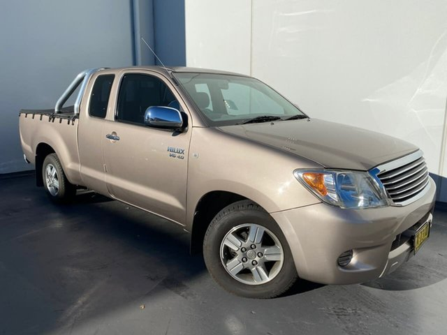 Used Toyota Hilux GGN15R MY05 SR5 Xtra Cab 4x2 Liverpool, 2006 Toyota Hilux GGN15R MY05 SR5 Xtra Cab 4x2 Bronze 5 Speed Automatic Utility