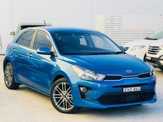 2020 Kia Rio YB MY20 Sport Blue 6 Speed Automatic Hatchback.