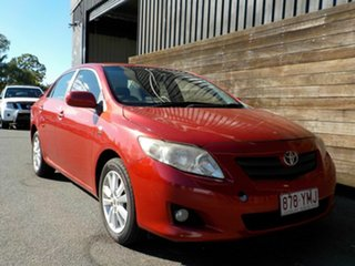 2007 Toyota Corolla ZRE152R Conquest Red 6 Speed Manual Sedan.
