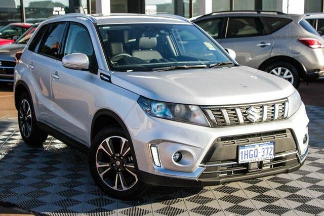 Demo Suzuki Vitara LY Series II Turbo 2WD Melville, 2021 Suzuki Vitara LY Series II Turbo 2WD Silky Silver 6 Speed Sports Automatic Wagon