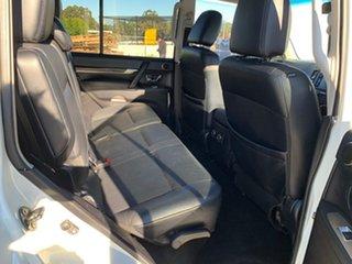2009 Mitsubishi Pajero NT Exceed LWB (4x4) White 5 Speed Auto Sports Mode Wagon