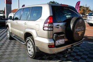 2003 Toyota Landcruiser Prado GRJ120R GXL Fawn 4 Speed Automatic Wagon.