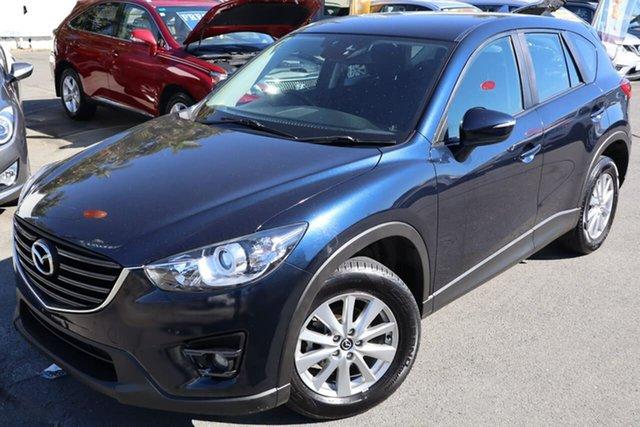 Used Mazda CX-5 KE1022 Maxx SKYACTIV-Drive i-ACTIV AWD Sport Moorooka, 2017 Mazda CX-5 KE1022 Maxx SKYACTIV-Drive i-ACTIV AWD Sport Blue 6 Speed Sports Automatic Wagon