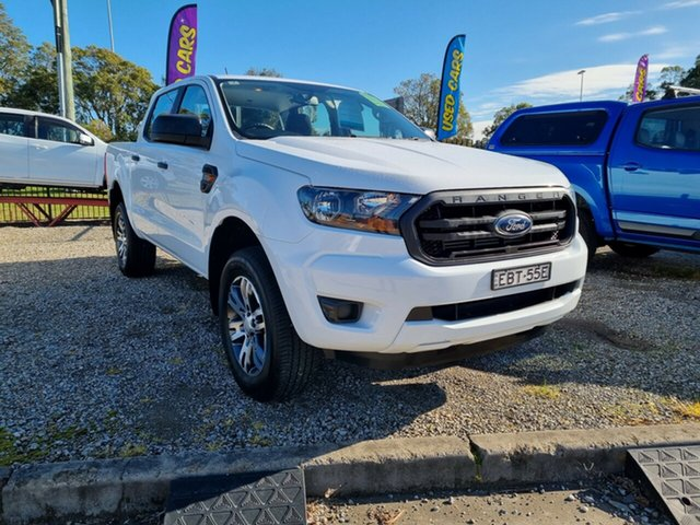 Used Ford Ranger PX MkII 2018.00MY XL Hi-Rider Glendale, 2018 Ford Ranger PX MkII 2018.00MY XL Hi-Rider White 6 Speed Sports Automatic Utility