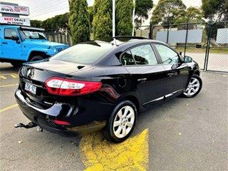 2011 Renault Fluence L38 Privilege Black 6 Speed Constant Variable Sedan.