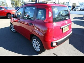 2013 Fiat Panda Easy Red 5 Speed Automatic Hatchback.