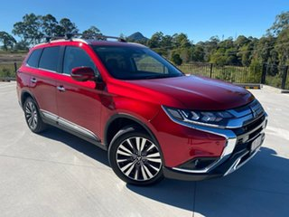 2021 Mitsubishi Outlander ZL MY21 Exceed AWD Red 6 Speed Constant Variable Wagon.