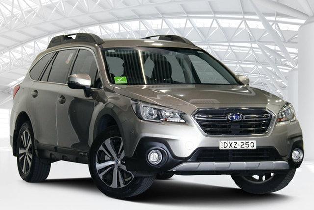 Used Subaru Outback B6A MY17 2.5i CVT AWD Moorebank, 2017 Subaru Outback B6A MY17 2.5i CVT AWD Gold 6 Speed Constant Variable Wagon