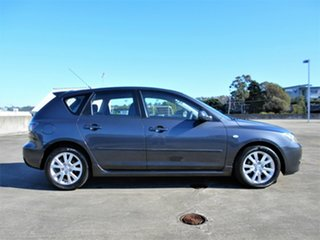 2007 Mazda 3 BK10F2 Maxx Sport Grey 5 Speed Manual Hatchback.