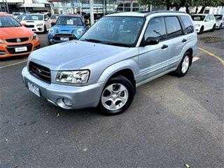 2002 Subaru Forester 79V MY03 XS AWD Luxury Silver 4 Speed Automatic Wagon.