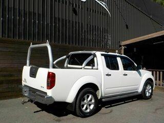 2010 Nissan Navara D40 MY10 ST-X White 6 Speed Manual Utility
