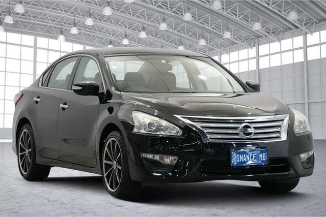 Used Nissan Altima L33 ST X-tronic Victoria Park, 2015 Nissan Altima L33 ST X-tronic Black 1 Speed Constant Variable Sedan