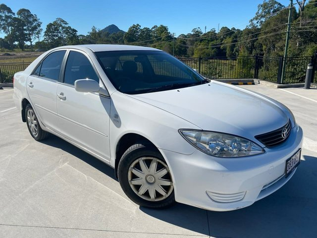 Used Toyota Camry ACV36R MY06 Altise Cooroy, 2006 Toyota Camry ACV36R MY06 Altise White 4 Speed Automatic Sedan