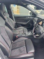 2021 Skoda Octavia NX MY21 RS DSG Silver 7 Speed Sports Automatic Dual Clutch Wagon.
