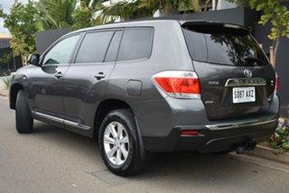 2011 Toyota Kluger GSU45R MY11 KX-R AWD Grey 5 Speed Sports Automatic Wagon.