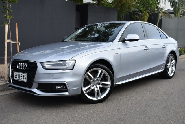 Used Audi A4 B8 8K MY15 S Line Multitronic Brighton, 2014 Audi A4 B8 8K MY15 S Line Multitronic Silver 8 Speed Constant Variable Sedan