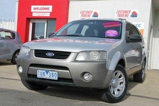 2005 Ford Territory SX TX (RWD) Silver 4 Speed Auto Seq Sportshift Wagon.