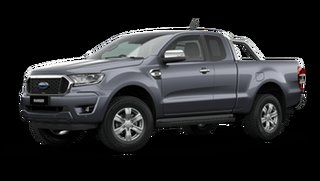 2021 Ford Ranger PX MkIII 2021.25MY XLT Meteor Grey 10 Speed Sports Automatic Super Cab Pick Up