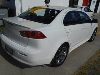 2008 Mitsubishi Lancer CJ MY08 VR White 5 Speed Manual Sedan