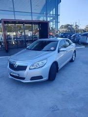 2013 Holden Malibu V300 MY13 CD Silver, Chrome 6 Speed Sports Automatic Sedan.