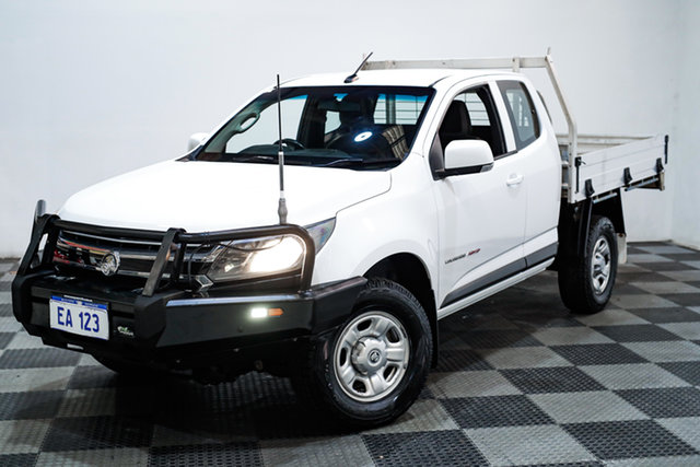 Used Holden Colorado RG MY16 LS Space Cab Edgewater, 2016 Holden Colorado RG MY16 LS Space Cab White 6 Speed Sports Automatic Cab Chassis