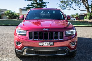 2015 Jeep Grand Cherokee WK MY15 Limited Deep Cherry Red Pearl 8 Speed Sports Automatic Wagon.