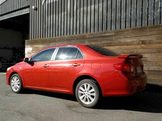 2007 Toyota Corolla ZRE152R Conquest Red 6 Speed Manual Sedan