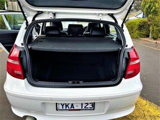 2010 BMW 118i E87 MY11 118i White 6 Speed Automatic Hatchback