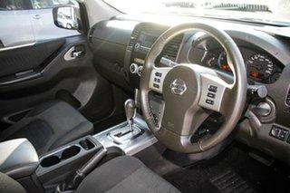 2012 Nissan Navara D40 S6 MY12 ST Black/Grey 5 Speed Sports Automatic Utility
