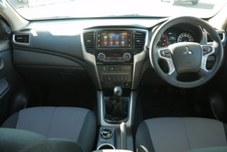 2020 Mitsubishi Triton MR MY21 GLX-R Double Cab White 6 Speed Manual Utility