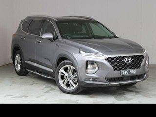 2018 Hyundai Santa Fe DM5 MY18 Highlander CRDi (4x4) Grey 6 Speed Automatic Wagon.