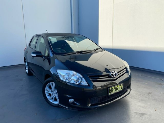Used Toyota Corolla ZRE152R MY11 Ascent Sport Liverpool, 2012 Toyota Corolla ZRE152R MY11 Ascent Sport Black 4 Speed Automatic Hatchback