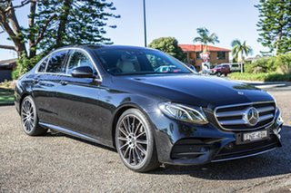 2020 Mercedes-Benz E-Class W213 800+050MY E200 9G-Tronic PLUS Black 9 Speed Sports Automatic Sedan.