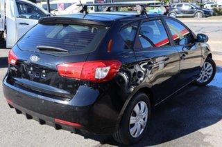 2011 Kia Cerato TD MY12 S Black 6 Speed Manual Hatchback.