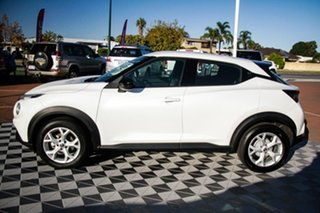 2020 Nissan Juke F16 ST+ DCT 2WD Ivory Pearl 7 Speed Sports Automatic Dual Clutch Hatchback