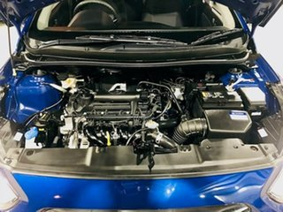 2017 Hyundai Accent RB4 MY17 Active Blue 6 Speed Constant Variable Sedan