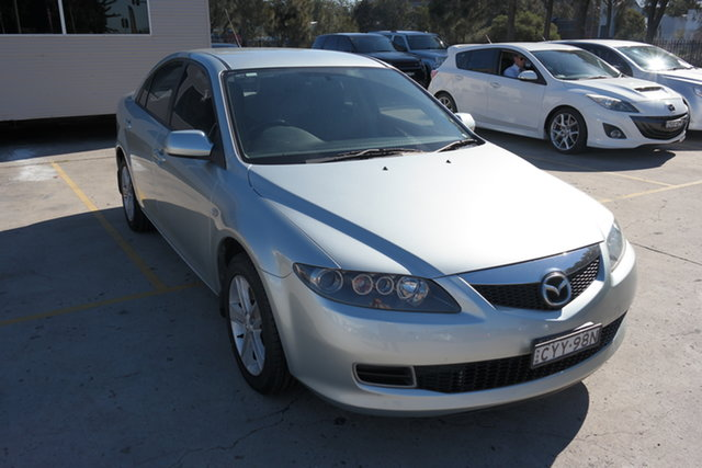 Used Mazda 6 GG1032 Classic Maryville, 2005 Mazda 6 GG1032 Classic Silver 5 Speed Sports Automatic Hatchback