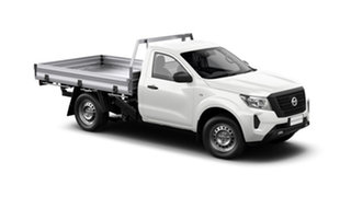 2021 Nissan Navara D23 MY21 SL 4x2 Solid White 6 Speed Manual Cab Chassis