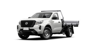 2021 Nissan Navara D23 MY21 SL 4x2 Solid White 6 Speed Manual Cab Chassis.