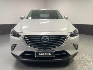 2016 Mazda CX-3 DK2W7A sTouring SKYACTIV-Drive White 6 Speed Sports Automatic Wagon.