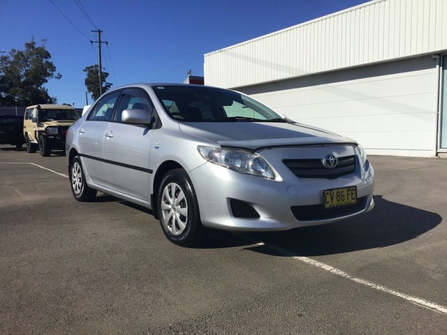 Used Toyota Corolla ZRE152R Ascent Cardiff, 2008 Toyota Corolla ZRE152R Ascent Silver 6 Speed Manual Sedan