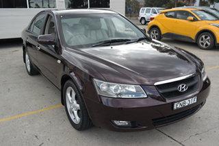2005 Hyundai Sonata NF Elite Red 4 Speed Automatic Sedan.
