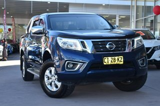 2015 Nissan Navara D23 ST Blue 7 Speed Sports Automatic Utility.