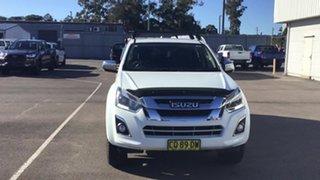 2018 Isuzu D-MAX MY18 LS-U Crew Cab White 6 Speed Sports Automatic Utility.