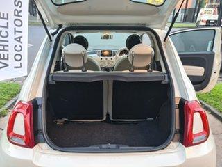 2017 Fiat 500 Series 4 Anniversario Dualogic White 5 Speed Sports Automatic Single Clutch Hatchback